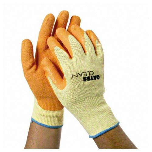 GLOVE MIGHTY GRIPPING ROUGH LATEX COTTON MED/LGE OATES