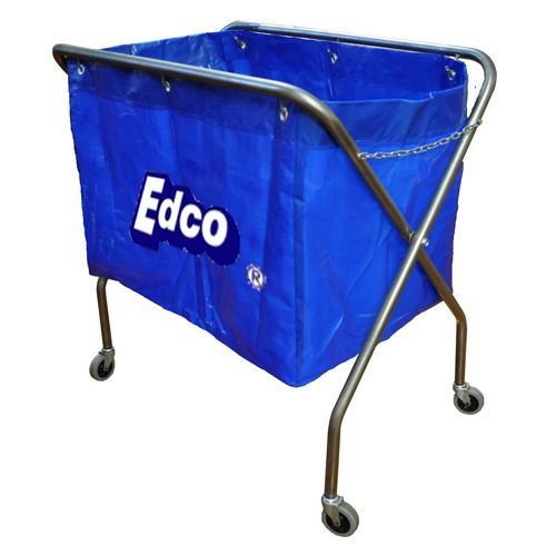 TROLLEY SCISSOR METAL FRAME BLUE BAG EDCO