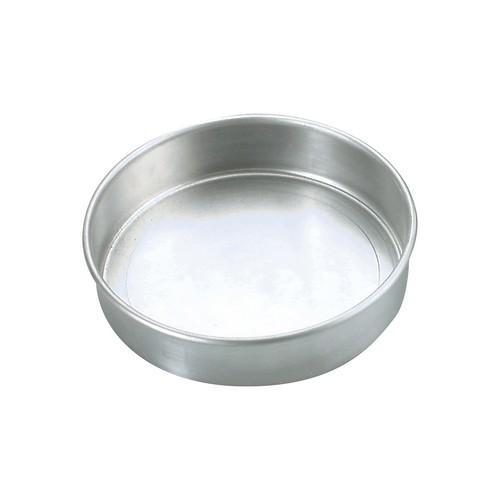 CAKE PAN ALUM ROUND 250X50MM CHEF INOX