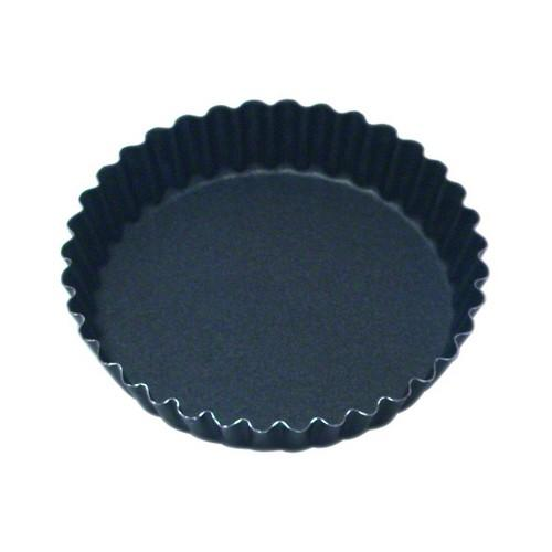 TART MOULD NON STICK FLUTED 105X20MM FIXED BASE GUERY