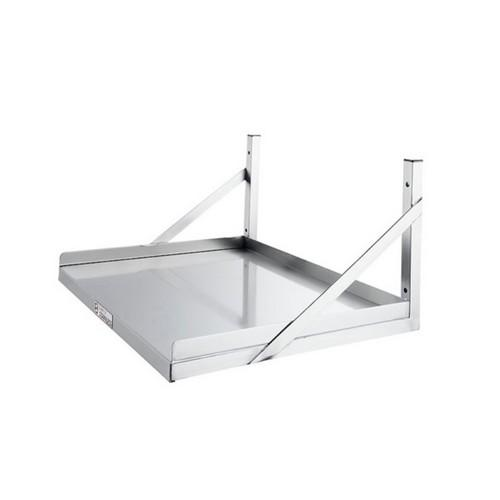 MICROWAVE / APPLIANCE WALL SHELF S/S 600X580X300MM SIMPLY STAINLESS