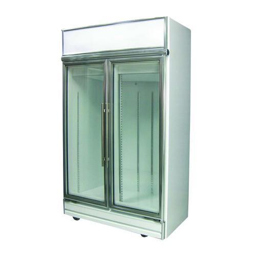CHILLER UPRIGHT 2 GLASS DOOR 898L 1260MM STREAMLINE