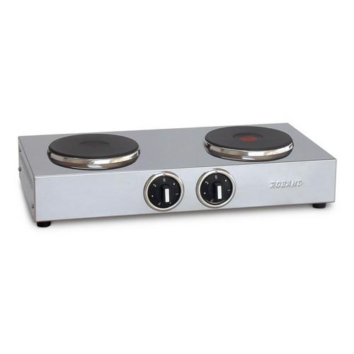 BOILING HOT PLATE DOUBLE 2X150MM 10AMP ROBAND