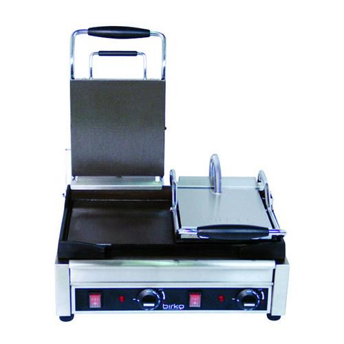 CONTACT GRILL MEDIUM PLATE 370X280MM SMOOTH 2400W 10AMP BIRKO