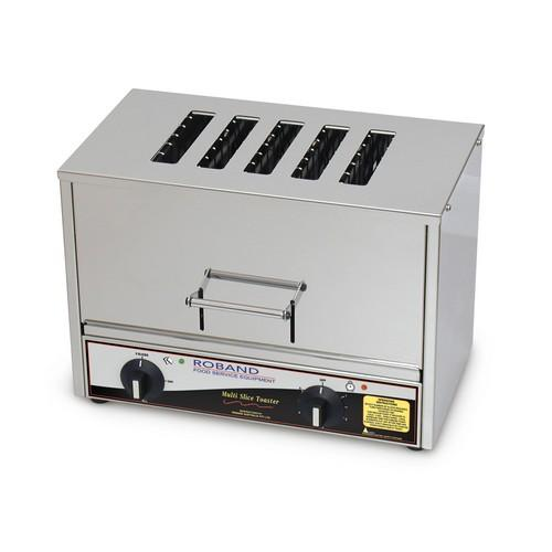 TOASTER VERTICAL 5 SLICE 2400W 10AMP ROBAND