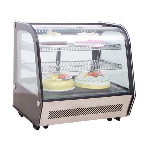 COLD FOOD DISPLAY SHOWCASE 2 SHELF 120L 10AMP  BIRKO