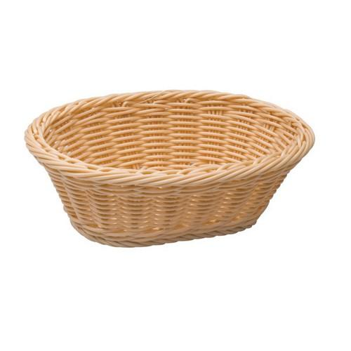 BASKET BREAD POLYP OVAL 280X160MM H/D