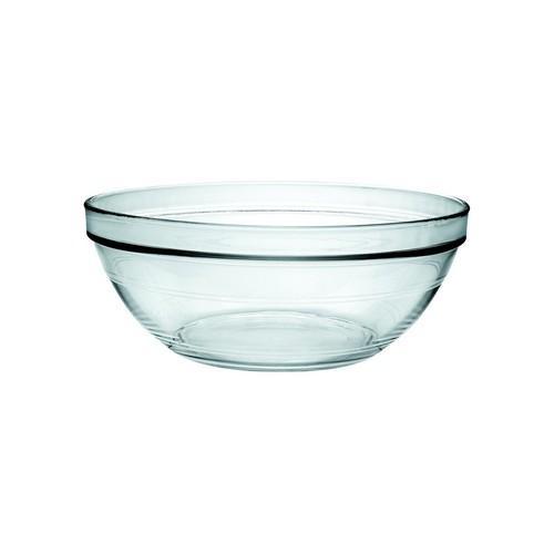 BOWL STACKABLE GLASS 260MM 3.4L LYS DURALEX