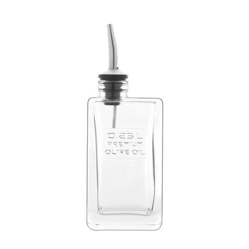 OLIVE OIL BOTTLE GLASS 250ML OPTIMA LUIGI BORMOILI
