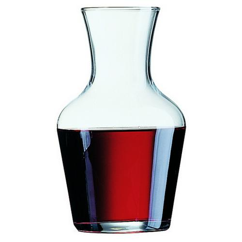 CARAFE GLASS 500ML VIN ARCOROC