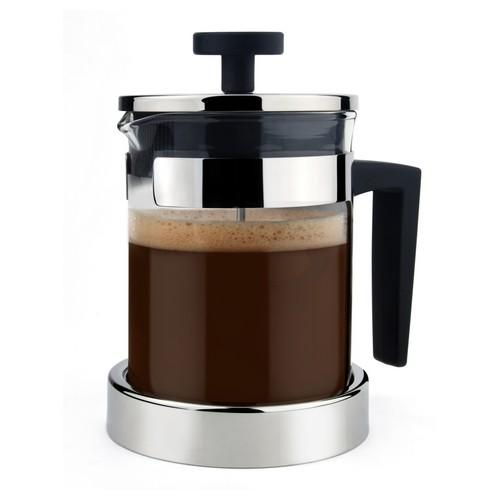 COFFEE PLUNGER / FRENCH PRESS 1L GLASS S/S DORF ATHENA
