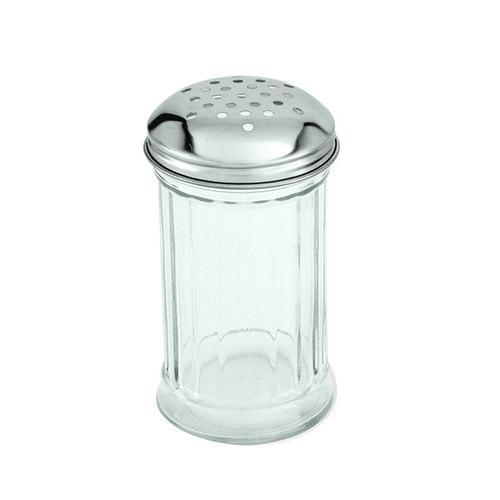 CHEESE SHAKER GLASS 335ML S/S TOP