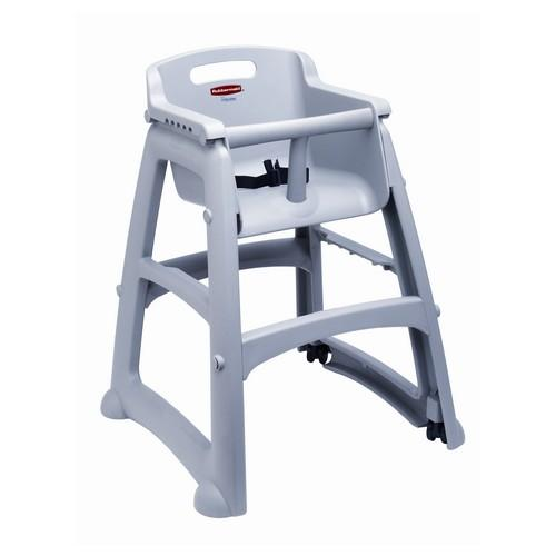 HIGH CHAIR / YOUTH SEAT PLATINUM STURDY RUBBERMAID