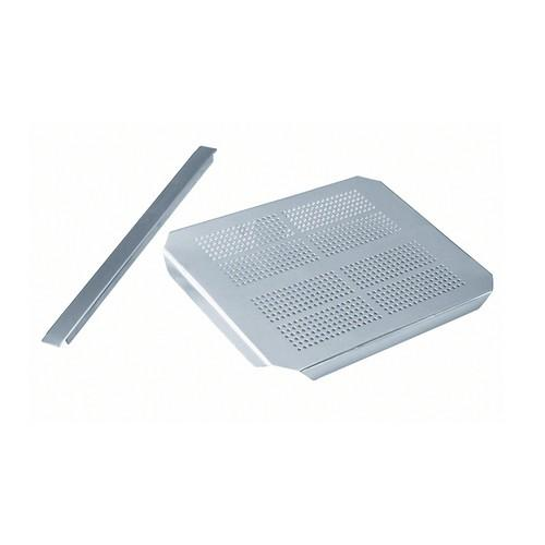 DRAIN PLATE S/S 1/3 SIZE FOR GASTRONORM PAN