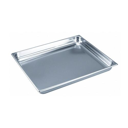 GASTRONORM PAN S/S 2/1 SIZE 100X650X530MM
