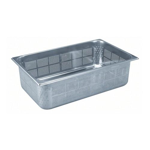 GASTRONORM PAN S/S 1/1 SIZE PERF 200X325X530MM