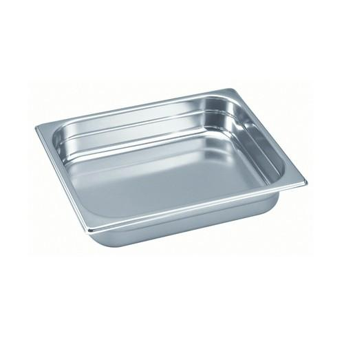 GASTRONORM PAN S/S 1/2 SIZE 20X265X325MM