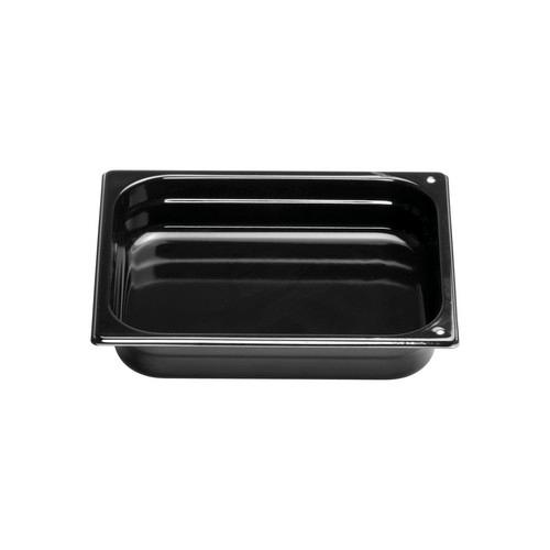 GASTRONORM PAN S/S 1/2 SIZE ENAMEL 65X325X265MM