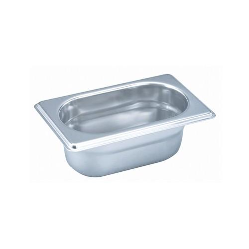 GASTRONORM PAN S/S 1/9 SIZE 65X108X176MM