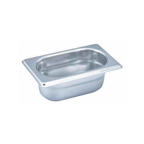 GASTRONORM PAN S/S 1/9 SIZE 100X108X176MM