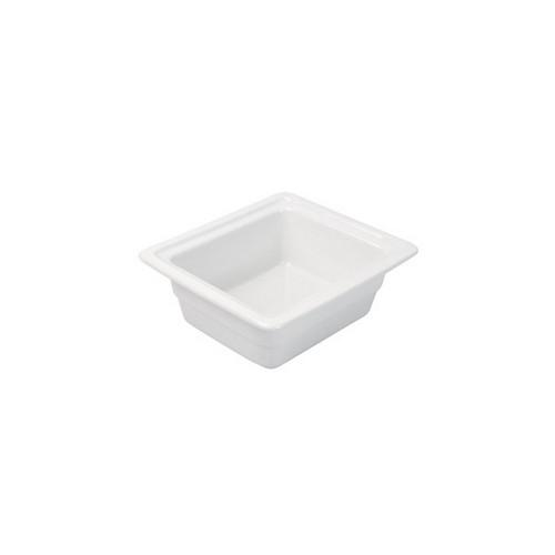 PAN PORCELAIN WHITE 1/6 SIZE 65X175X162MM RYNER