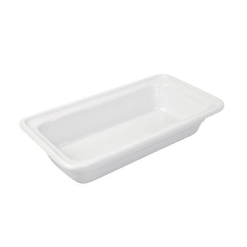 PAN PORCELAIN WHITE 1/3 SIZE 25X175X325MM RYNER