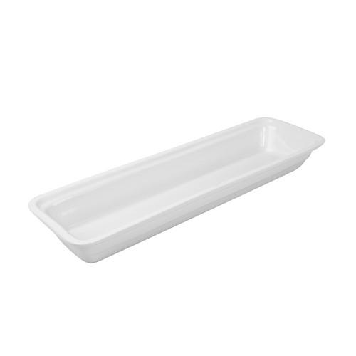PAN PORCELAIN WHITE 2/4 SIZE 25X530X162MM RYNER