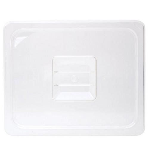 COVER POLY CLEAR 1/3 SIZE FOR FOOD PAN