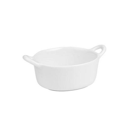 DISH OVAL MINI W/HANDLES 75X70MM BASICS