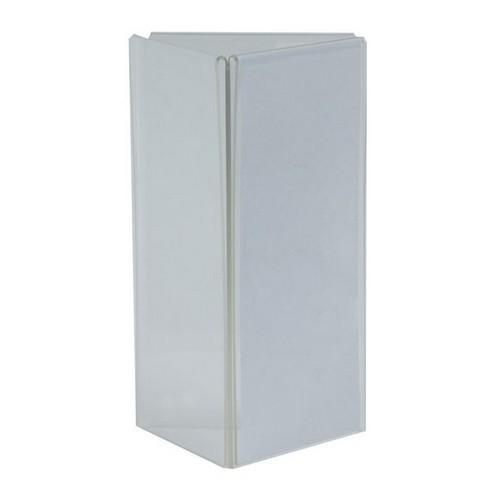 MENU STAND ACRYLIC TRIANGULAR 3 DL PANELS 105X210MM