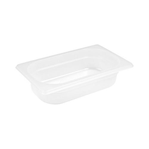 GASTRONORM PAN POLYP 1/4 SIZE 65X162X265MM