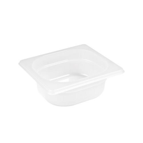 GASTRONORM PAN POLYP 1/6 SIZE 65X162X176MM