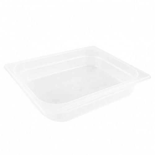 GASTRONORM PAN POLYP 1/2 SIZE 100X325X265MM