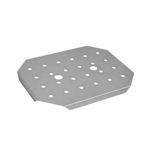DRAIN PLATE S/S 1/2 SIZE FOR STEAM PAN