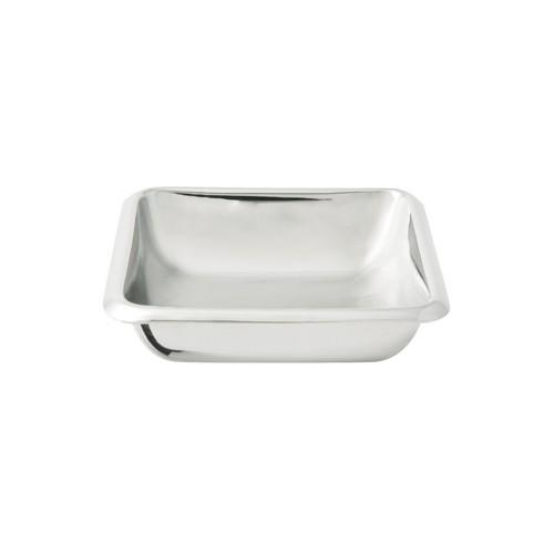DISH SAUCE SQUARE S/S 80X80X20MM