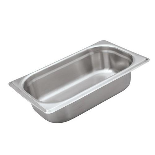 STEAM PAN S/S 1/4 SIZE 150X265X162MM