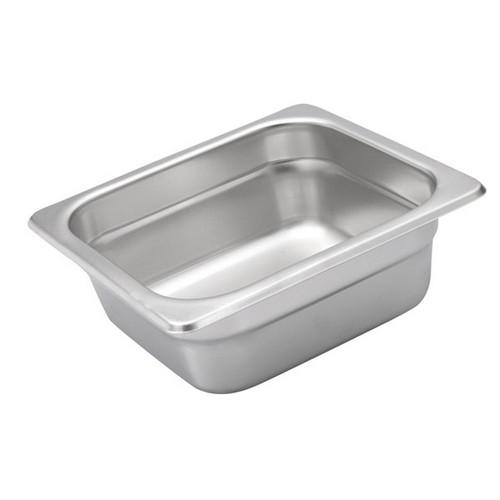 STEAM PAN S/S 1/6 SIZE 65X176X162MM