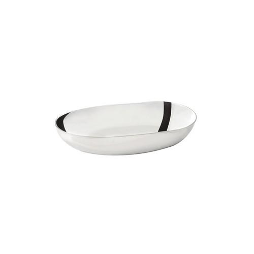 DISH OLIVE / SAUCE OVAL S/S 75X35X15MM