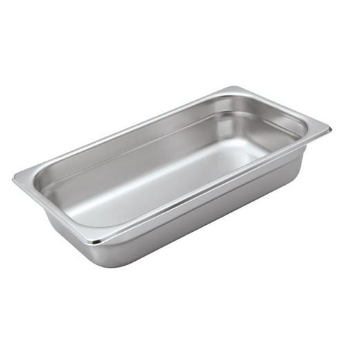 STEAM PAN S/S 1/3 SIZE 100X325X175MM