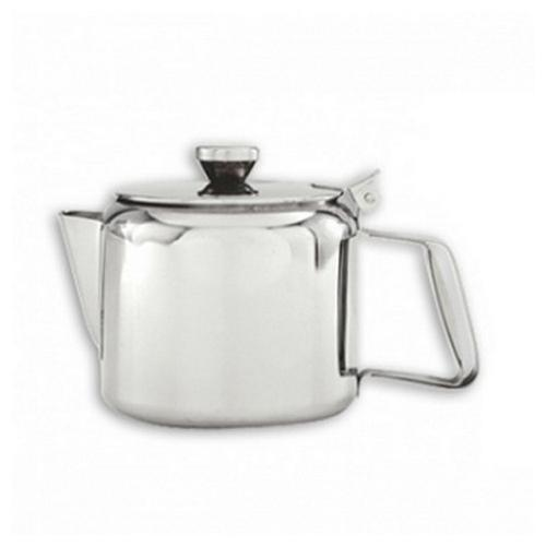 TEAPOT S/S 600ML STRAIGHT SIDE PACIFIC