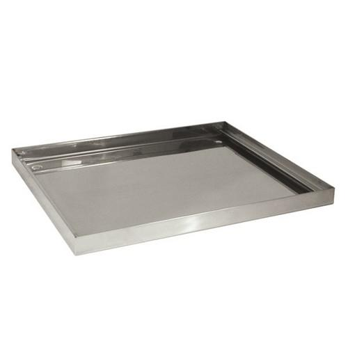 DRIP TRAY S/S FOR GLASS BASKET 360X360X25MM