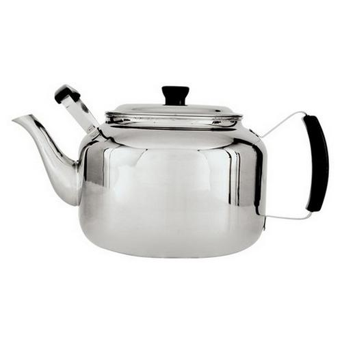 TEAPOT S/S 6.7L 36 CUP CANTEEN 2 HANDLE