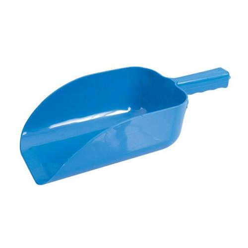 ICE SCOOP PLASTIC BLUE 1.9L 350MM FLAT BOTTOM