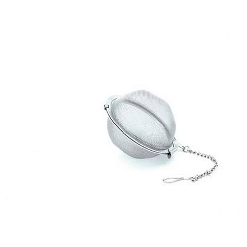 INFUSER TEA BALL S/S 45MM MESH W/CHAIN