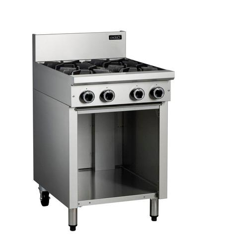 COOKTOP 4 BURNER 600MM W/CABINET BASE GAS COBRA
