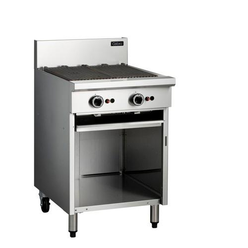 CHARGRILL 600MM W/CABINET OPEN BASE GAS COBRA