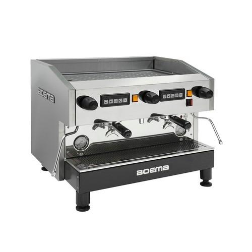 COFFEE MACHINE 2 GROUP VOLUMETRIC 3600W BO-EMA