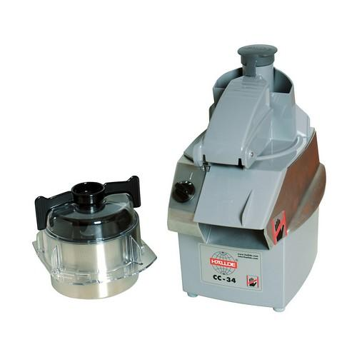 COMBINATION CUTTER 3L S/S BOWL 4 SPD 1000W 10AMP  HALLDE