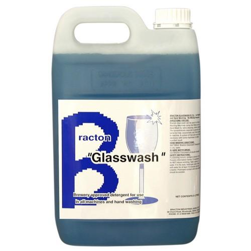 GLASSWASH LIQUID CONCENTRATE 5L BRACTON