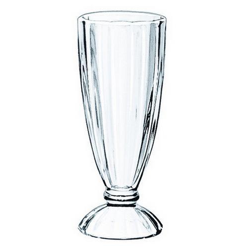 SODA GLASS FLUTED 355ML FOUNTAINWARE LIBBEY
